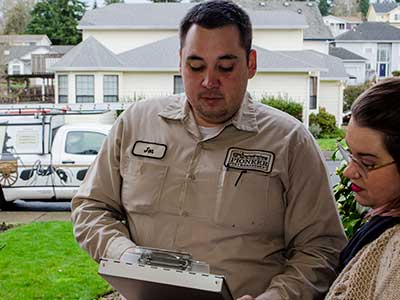 termite inspections and extermination pest control services Portland Oregon Vancouver WA